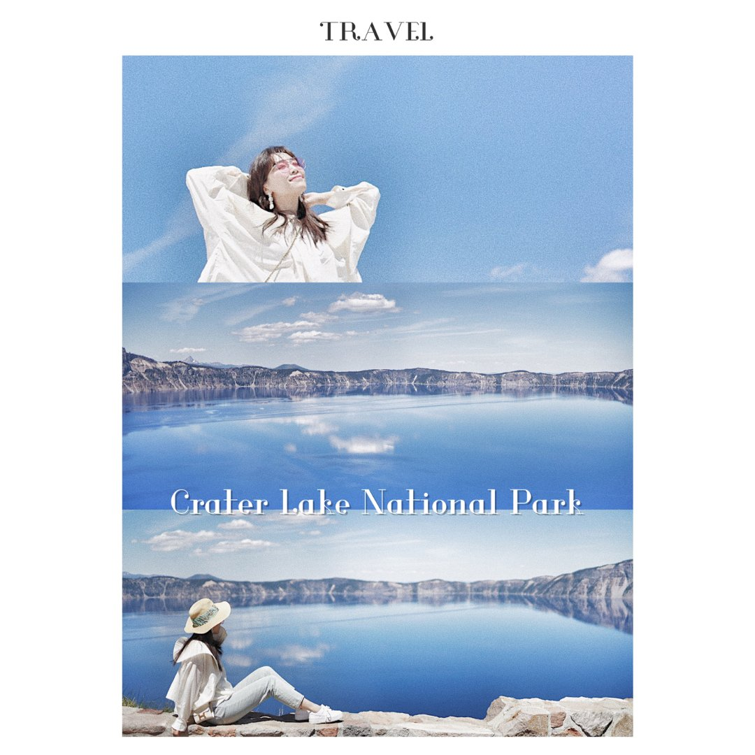 火山湖国家公园▪️寂静的蓝天和深湖☁️