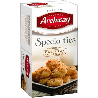 $3.60Archway Cookies, Original Coconut Macaroons, 6 oz Box @ Amazon.com