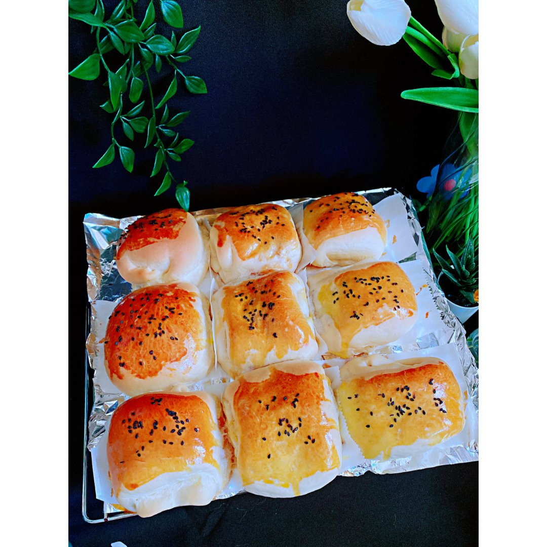 🍑鲜桃子面包🍑