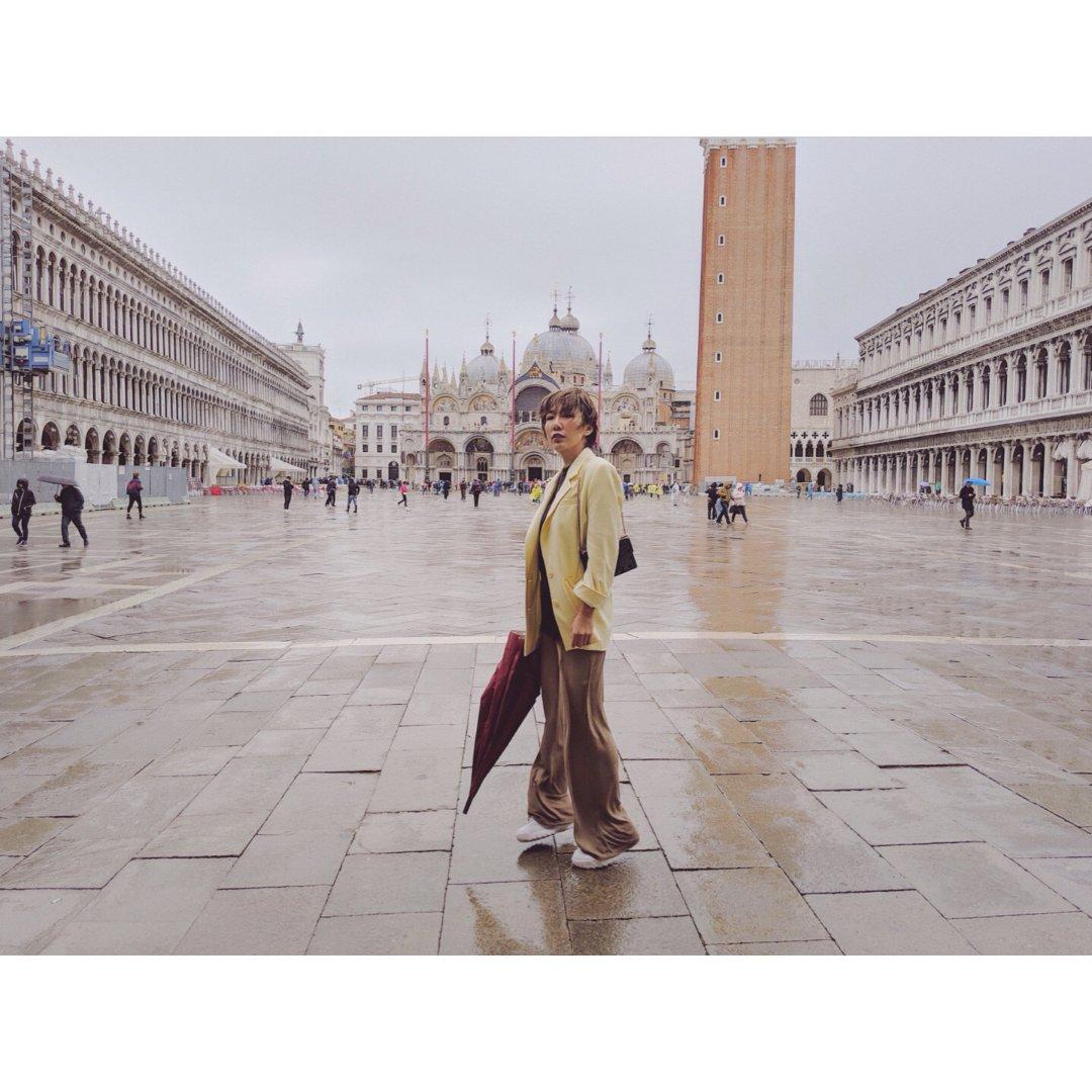 威尼斯之旅  第一天,雨中威尼斯