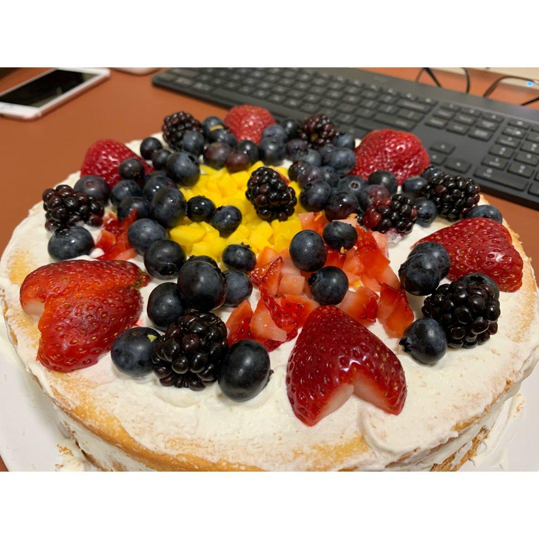 美食摊主上线-自制水果蛋糕