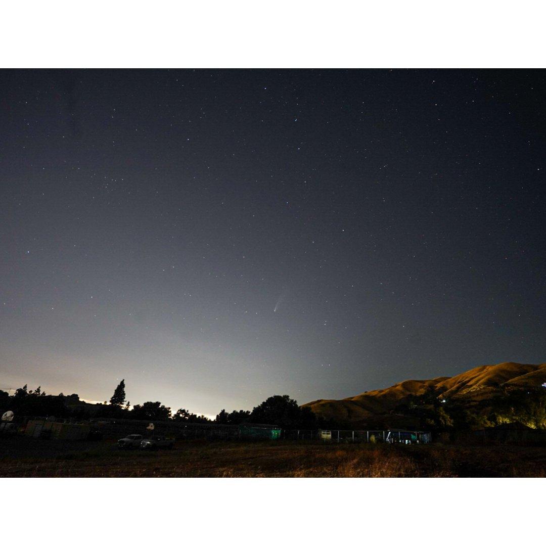 🌠彗星都快要熄火了 (旧金山湾区观星)