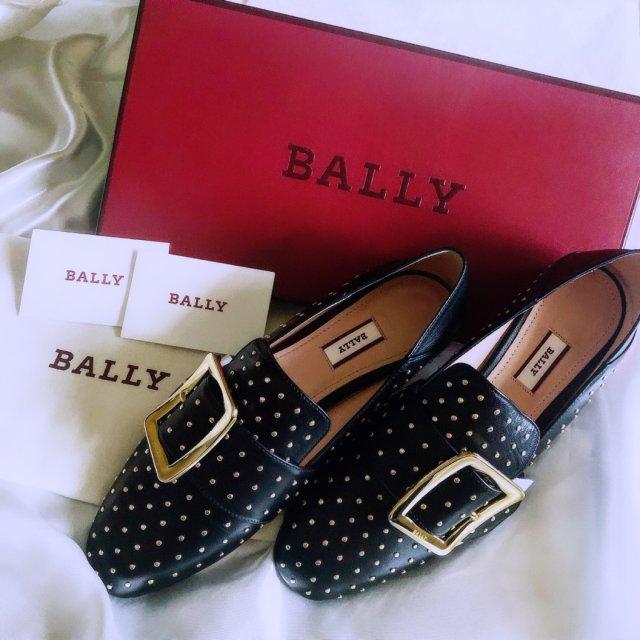 NO.52 Bally小铆钉乐福鞋...