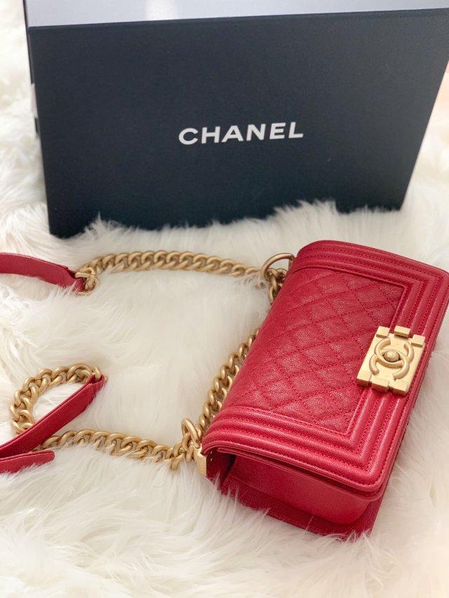 Chanel boy款,不入真不知...