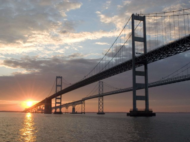 DMV 去哪儿逛~去看世界最长的双排桥
