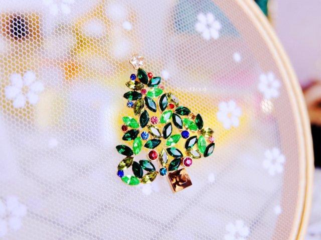🎄圣诞树胸针🎄带上它你就是圣诞夜最美的妞