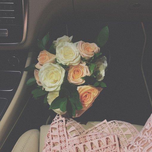 穿搭 生日当天 抢到了新娘的捧花💐🎂