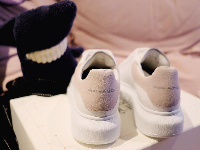 晒货|麦昆粉尾小白鞋