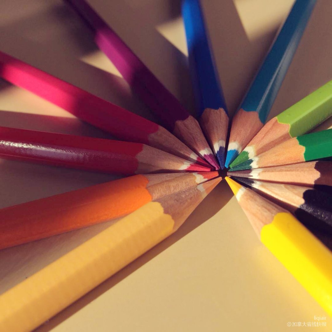 ✏️12色的彩铅是12种心情 今天的心情...