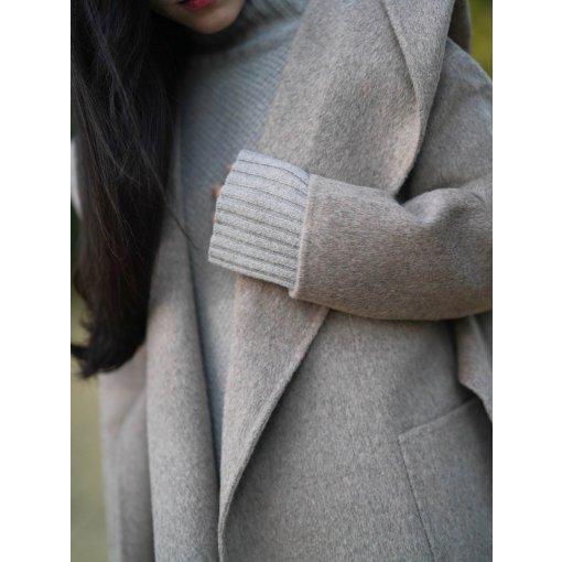 【coat season】一件羊绒大衣的两种穿搭