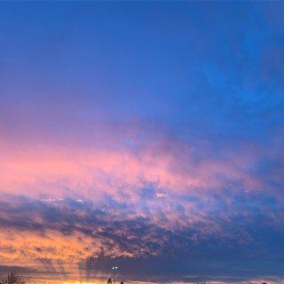 年度美照丨无滤镜的天空...