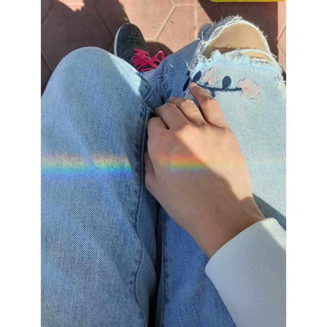 小確幸🔟 意外的一抹彩虹