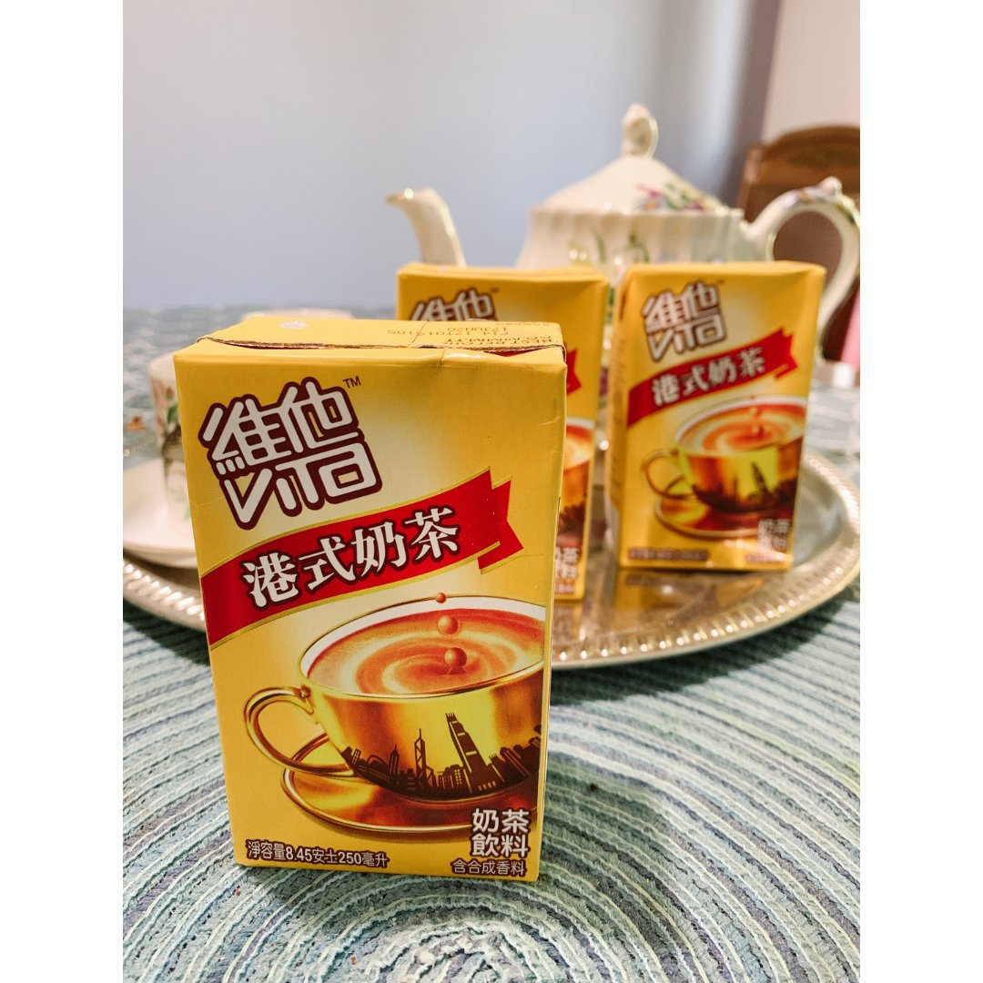 推荐维他(Vita)港式奶茶,购于亚米网