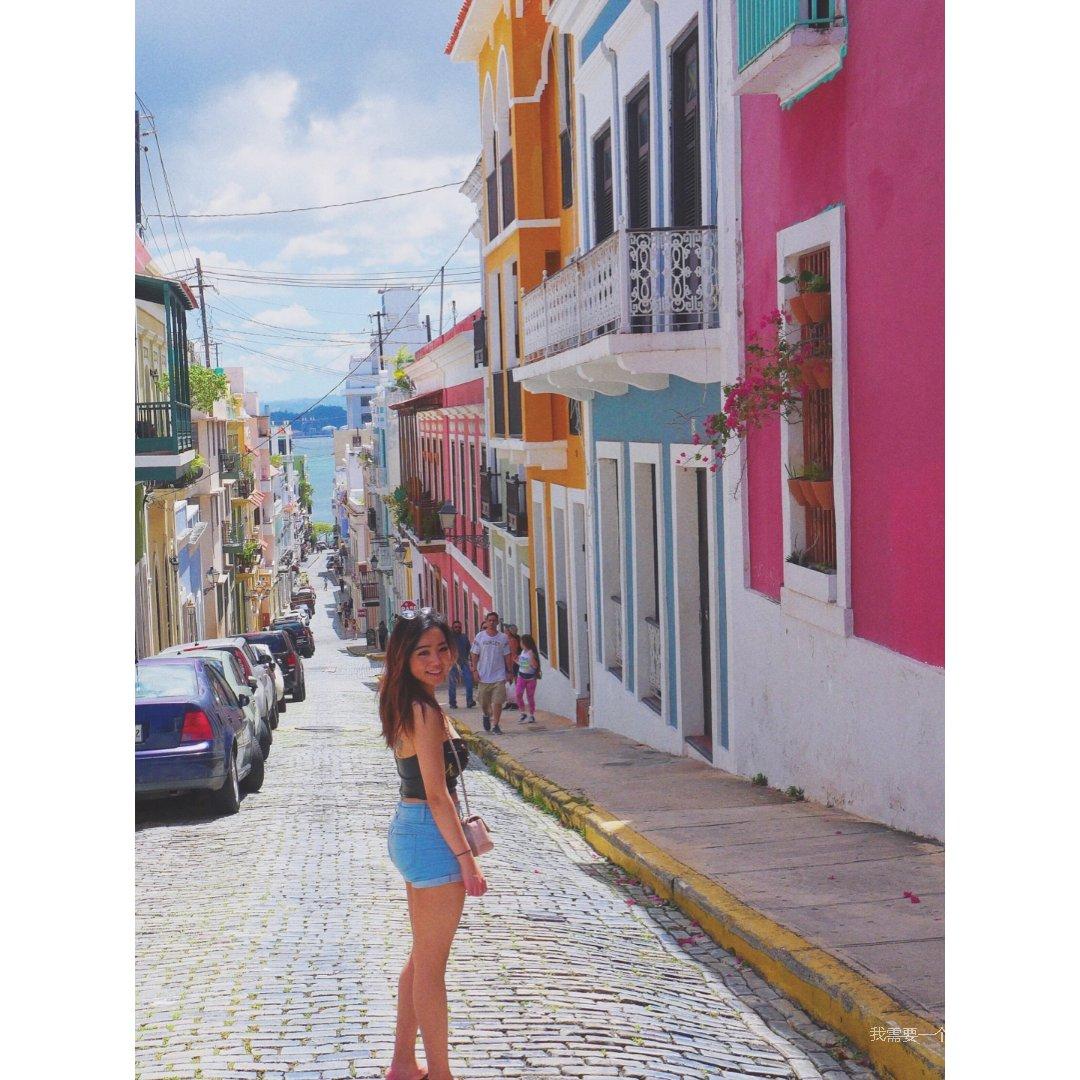 美好的Old San Juan&V...