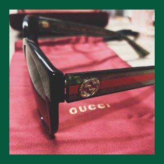 Gucci经典红绿色墨镜🕶️...