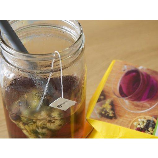 午后来点小零食🍵小麻花儿和枸杞胎菊花茶