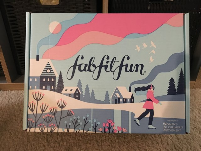 Fabfitfun 冬季盒子-完美...