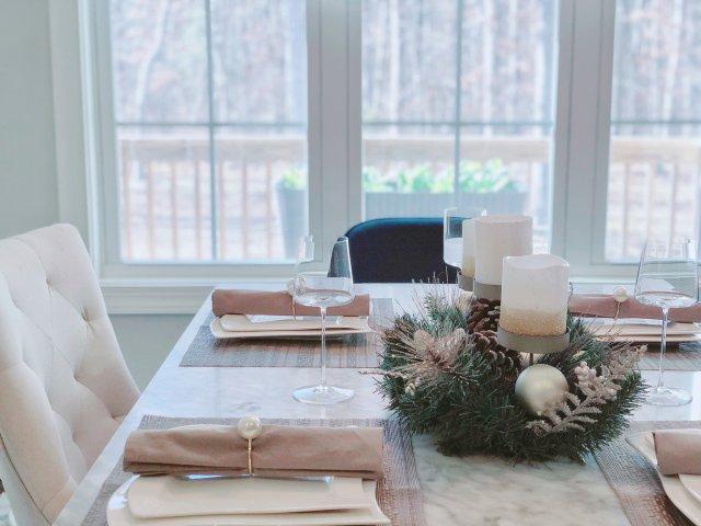 🌲圣诞餐桌布置🌲
