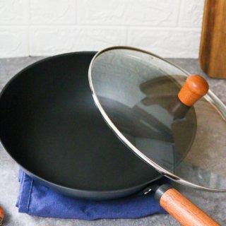 满足你的中国胃 中式精铁爆炒锅