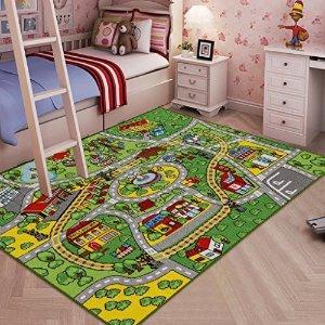 低至14.19 近史低价Learning Carpets 儿童超大游戏毯,多款可选