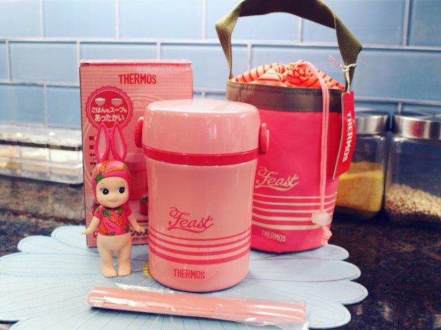 膳魔师粉色午餐盒