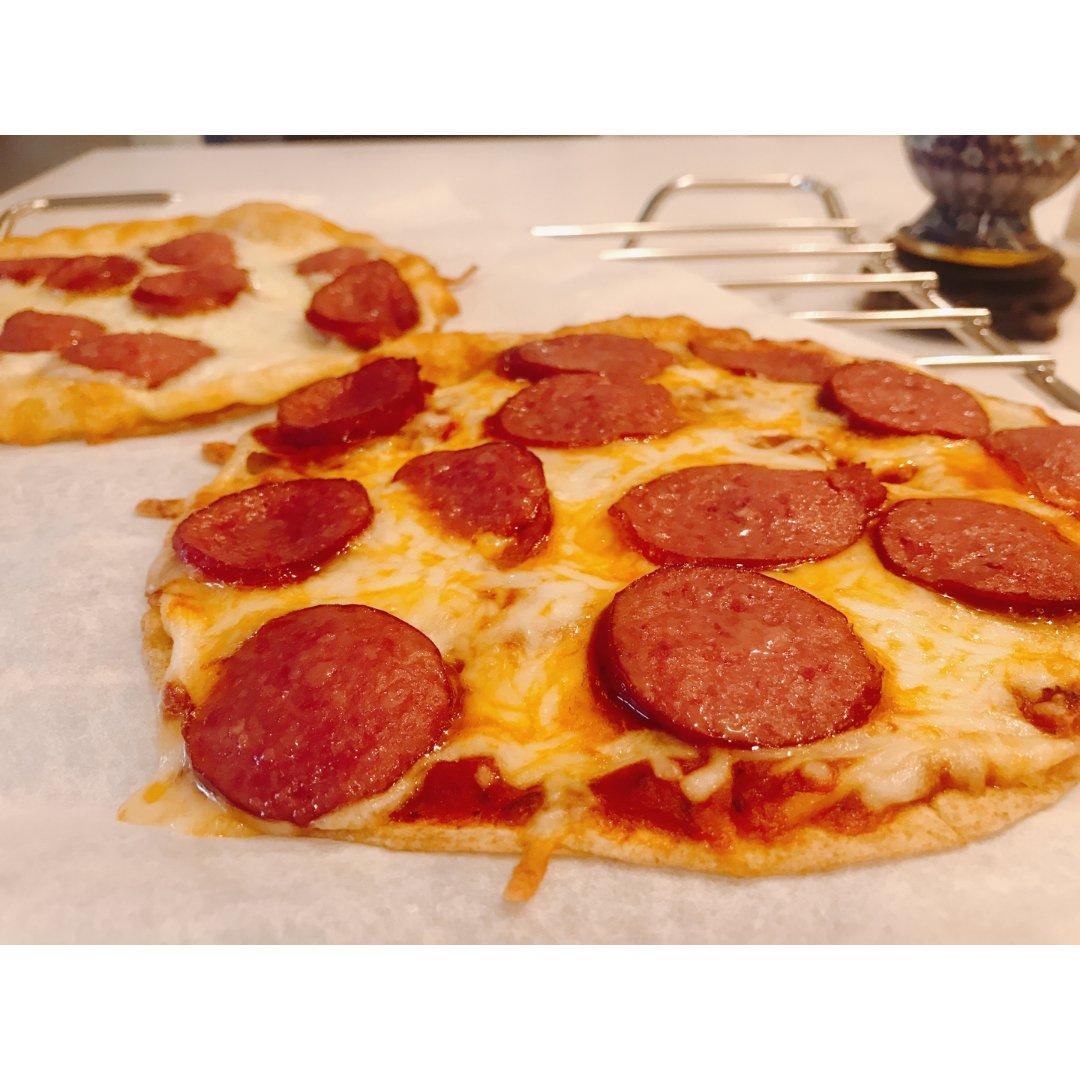 健身打卡➌|自制减脂披萨🍕