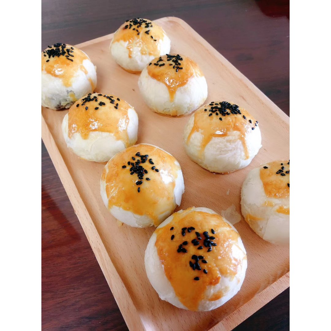 2. 美味早餐or下午茶之蛋黄酥