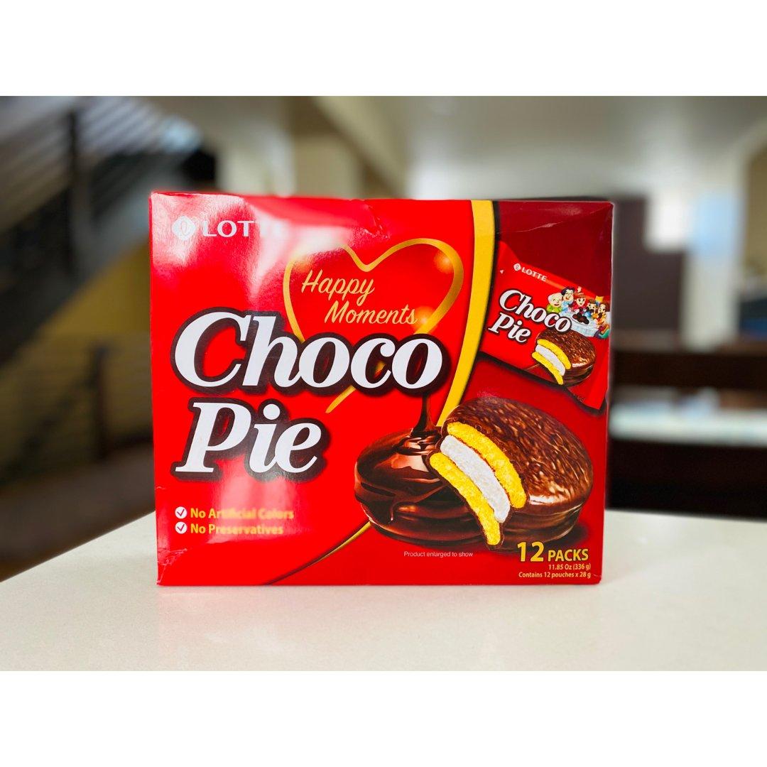 美食|童年回忆之乐天巧克力派