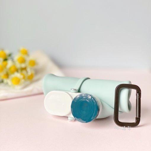 微众测|生活好物的网易严选硅胶折叠水瓶