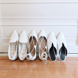 尖头平底鞋