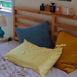 生活|真丝枕套,香水,和猫...