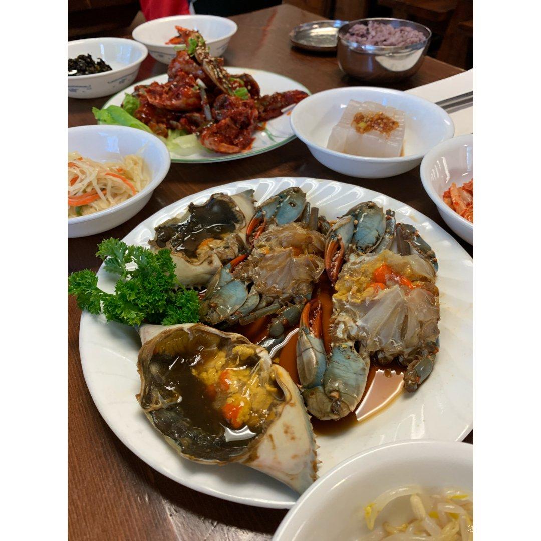 头一次在多伦多吃酱螃蟹!