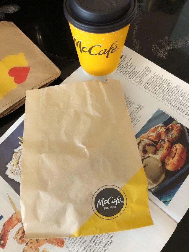 麦当劳网红黄金小油条