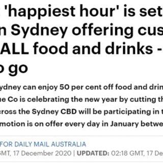 明年1月,🥙悉尼8家餐厅美食全部半价!活...