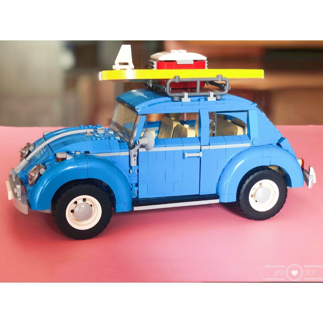 我的乐高小车车之甲壳虫
