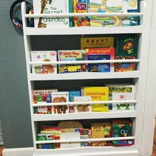 推荐一个超好用的书架|书收纳好了宝宝居然...