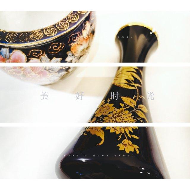 德国🇩🇪皇家瓷器—经典钴蓝花瓶