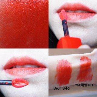 【Dior新款哑光唇釉846 Poppy微众测】
