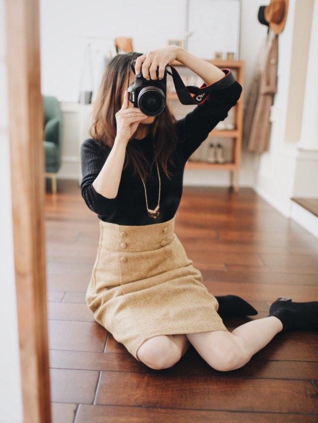 CC玩转衣橱|今秋第一件超美羊毛裙