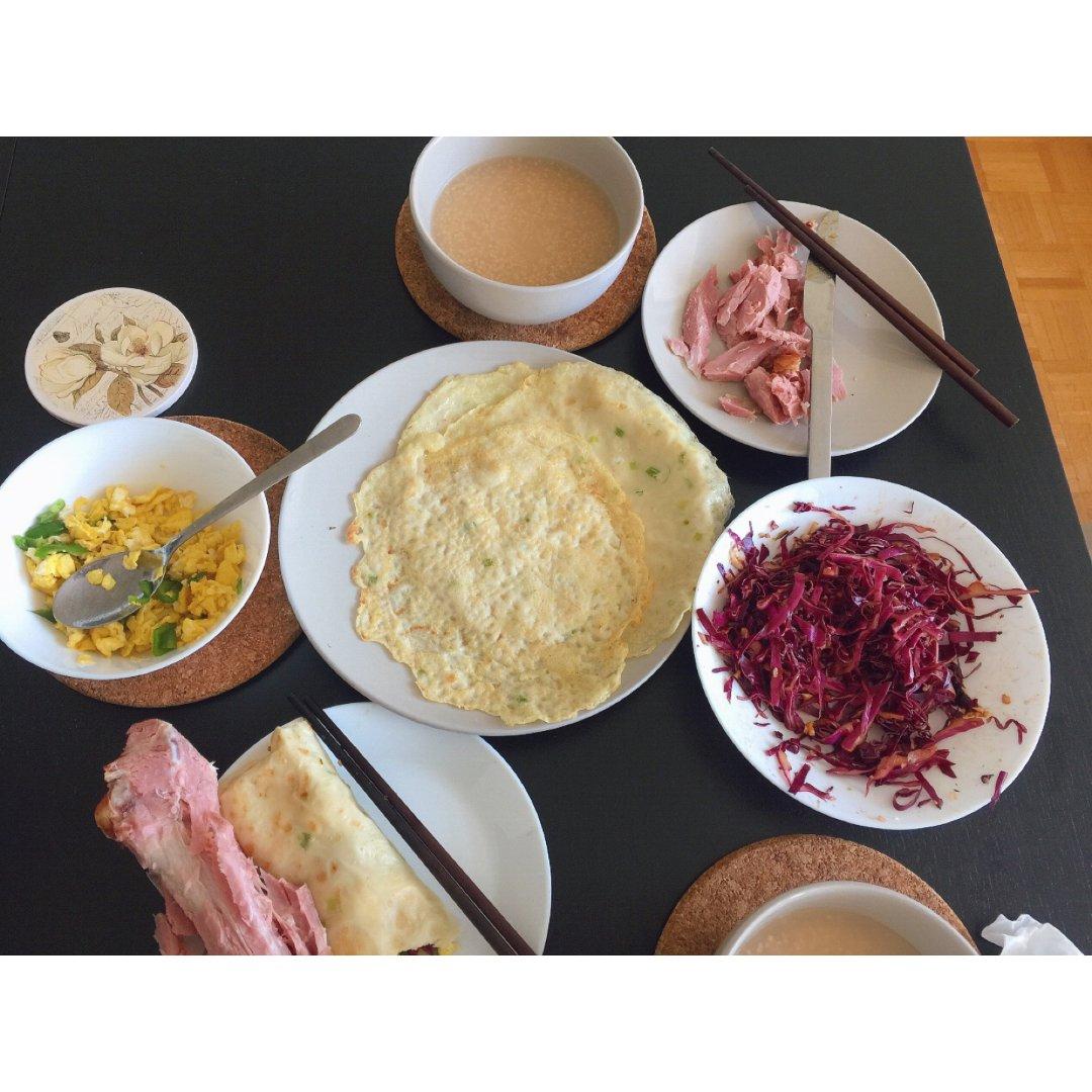 不管中餐西餐,有营养就是好早餐
