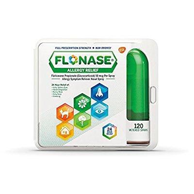 Flonase 24小时过敏安心鼻喷雾 120试剂装