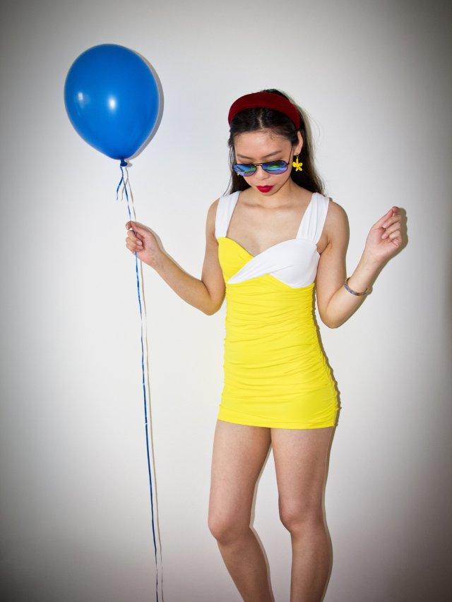 设计独特的复古多变泳衣👙夏娃的诱惑