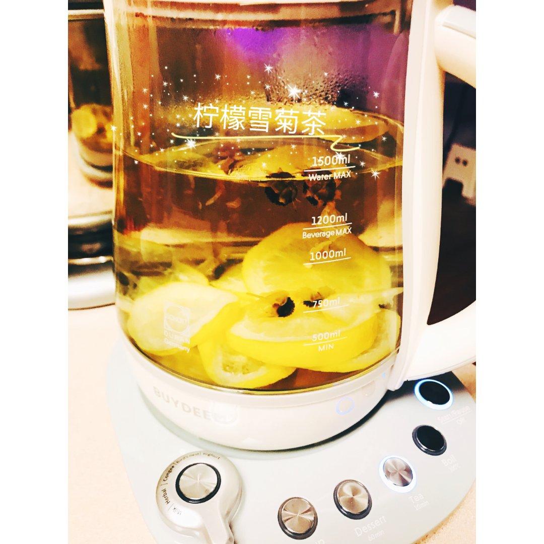 柠檬雪菊茶
