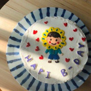 这个夏天开始入坑的奶油霜手绘蛋糕🎨...
