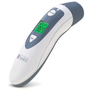 Amazon.com: Innovo Medical Digital Forehead and Ear Thermometer 2017 Model - Temperature and Fever Health Alert Clinical Monitoring System for Children and Adults - CE and FDA Cleared: Health & Personal Care