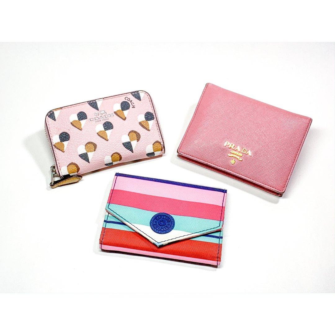藏在外出包裡的粉嫩心,我的粉色錢包們👛