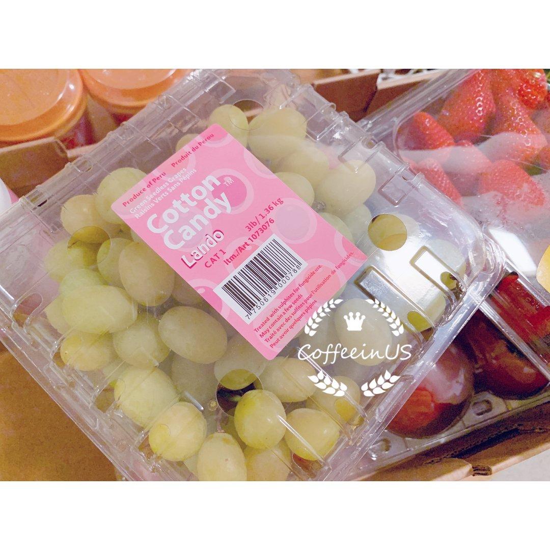 🤩棉花糖口味的葡萄 🍇了解一下?