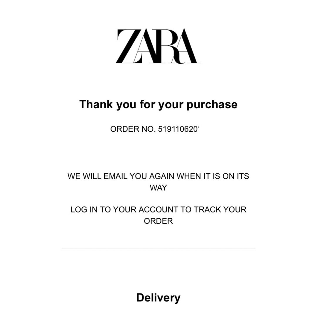 【11月剁手月】 Zara