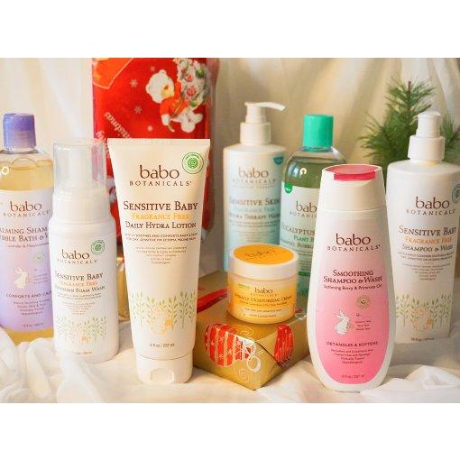 Babo Botanicals 大人&小孩的天然护肤品牌
