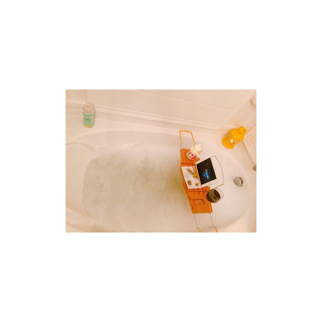上周末看见梓瞳妹子分享的泡澡板,觉...
